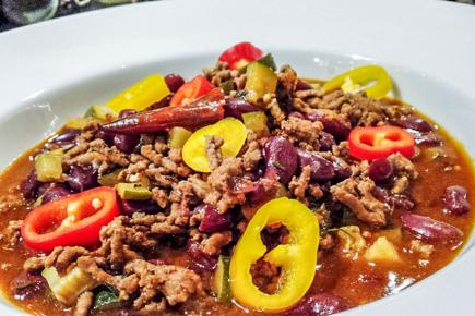 Un «curried chilli-con-carne»