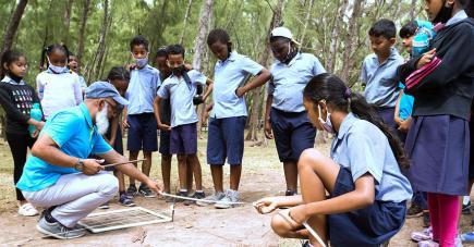Ces jeunes ont eu droit à plusieurs activités sur l'eau comme sur la terre.