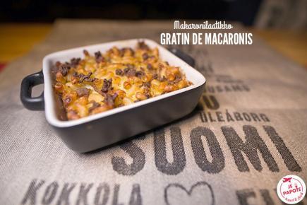 Makaronilaatikko : le gratin de macaroni finlandais