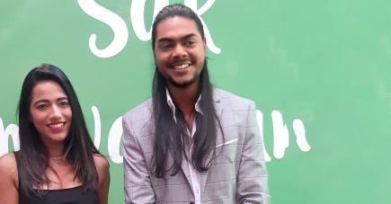 Le duo présentera le tirage de la Loterie vert chaque vendredi.