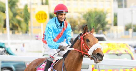 Perplexing a ramené Rs 250 000 à l'écurie Gujadhur, hier, à l'occasion de sa 3e victoire de suite.