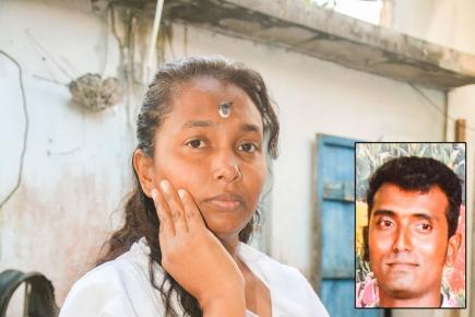 Babita Pargass récuse la thèse du suicide de son époux (ci-contre).