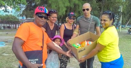 En créant cette association, cette famille a voulu aller plus loin dans son engagement social.