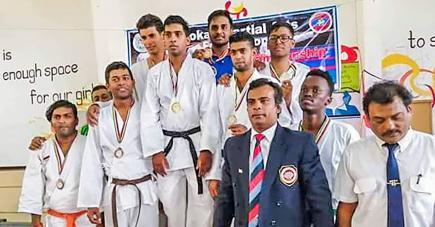 Les jeunes ont fait bonne impression lors de ce premier tournoi par équipe.