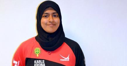 La Mauricienne profite pleinement de sa formation en Suède.
