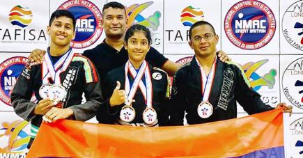 Malgré le niveau très élevé de la compétition, les espoirs de la MBJJF ont fait bonne impression lors de leur première participation dans un tournoi de cette envergure.
