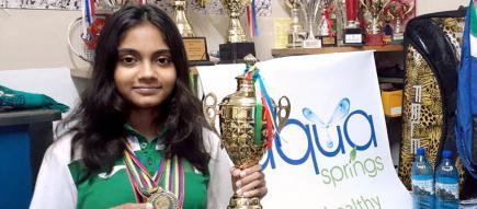 Alors qu'elle cherchait un titre de championne de Maurice, Aaisha Auleear en a eu droit à trois d'un seul coup.