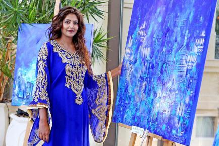 La jeune femme a fondé ZeeArts, une société de conseil en art à Dubaï.