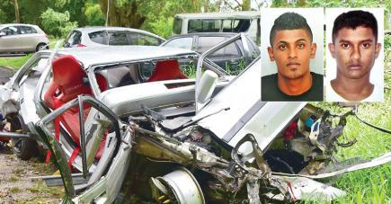 Asheel Hutty et Keshav Canhea sont morts dans la nuit du Nouvel An.