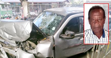 Le 4x4 accidenté était conduit par le fils de la victime.