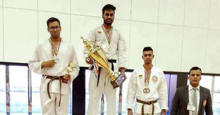 Akash Aumeer a usé de son expérience pour faire la différence lors de cette « Battle of Champions ».