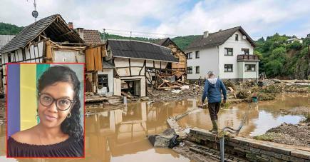 «L'Allemagne est en émoi. Les gens continuent à s'affairer à leurs occupations mais le cœur est quand même avec toutes ces victimes qui y ont laissé la vie et ceux qui ont tout perdu. Nous sommes solidaires et il y a une forte mobilisation pour les encadrer»,confie la Mauricienne Wendy Alber.