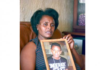Le coeur de cette mère saigne depuis la fin tragique de son fils.