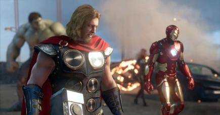 Le prochain jeu «Avengers»