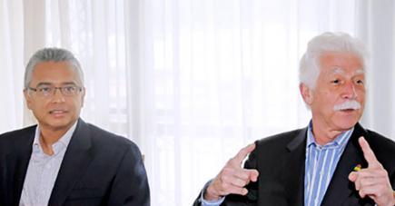 Pravind Jugnauth et Paul Bérenger pourront-ils aplanir leurs différences ?