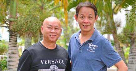Les chefs Pung Lu Tin et Frankie Ong étaient à Maurice pour partager leur savoir-faire avec les Mauriciens.