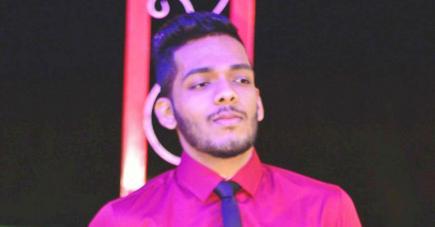 Le jeune producteur Hitesh Appadu.