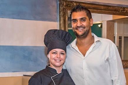 C'est avec son époux Ashley qu'elle a ouvert le restaurant.