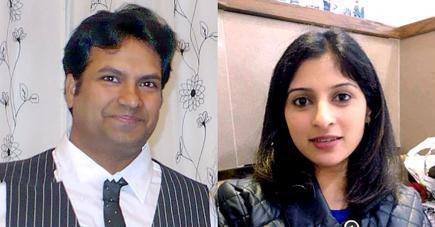 Sana Muhammad était séparée de son ex-époux, Ramanodge Unmathallegadoo, depuis sept ans. (Les photos que nous publions de la jeune femme et de son ex-époux ont paru dans plusieurs médias anglais).