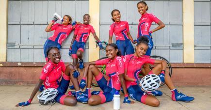Des jeunes filles qui seront appelées à représenter le pays dans des grandes courses.