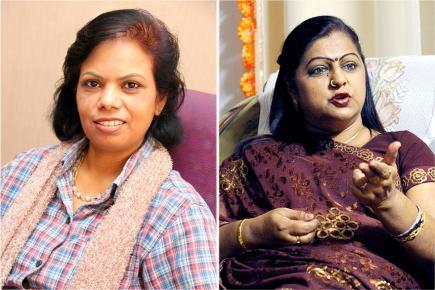 Vidya Charan et Kalyanee Juggoo