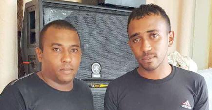 Niroy et Nicolas Hazemoth soupçonnent le policier Srinesh Boochia d'avoir consommé de la drogue synthétique.