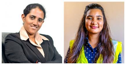 Kesweena et Uzma sont passionnées par leurs métiers.