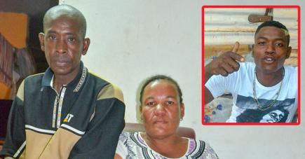 Johnny et son épouse Sabrina digèrent très mal la décision de la cour intermédiaire après le décès tragique de leur fils (photo ci-contre).