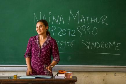 Rani Mukherjee incarne une enseignante pas comme les autres.