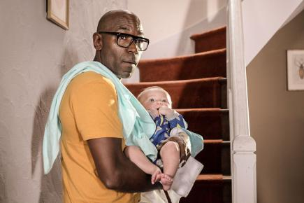 Une famille qui va connaître un bébé qui va tout  bouleverser.