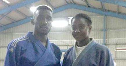 Christopher et Noemia Carron souhaitent décrocher une médaille d'or lors des Jeux des îles qui se dérouleront à Maurice en 2019.