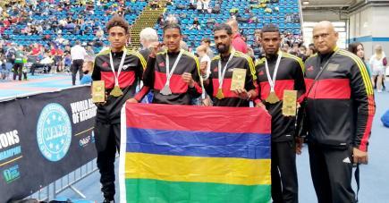 Avec trois médailles d'or et une d'argent, les tireurs mauriciens ont réalisé un bon parcours à la Coupe du monde de Hongrie.