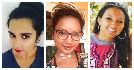 Alchalashree Sharma Shastry, Teenaotee Cheetamun et Florence Thomas nous donnent de précieux conseils.