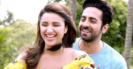 Ayushman Khurana et Parineeti Chopra forment le duo romantique dans cette histoire d'amour.