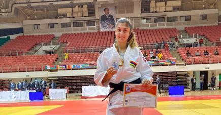 La judokate mauricienne a remporté deux médailles d'argent lors de ses deux premières sorties internationales de 2020.