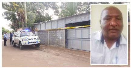 C'est dans cette maison à Karo Kalyptis que Desveaux Augustin (photo ci-contre) a été séquestré et tabassé avant d'être secouru par la police.