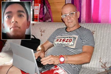 Marc Paumero veut connaître la vérité sur la fin tragique de son fils (ci-contre).