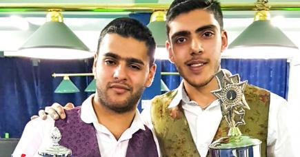 Salman et Shariq Moosa visent une place  en phase finale.