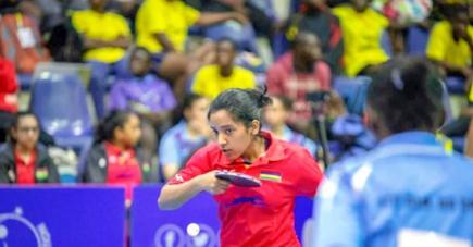 La pongiste espère que la situation va s'améliorer afin qu'elle puisse reprendre la compétition.