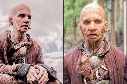 Vous le reconnaissez. C'est l'acteur Rajkumar Rao qui s'est métamorphosé en un homme de 324 ans.