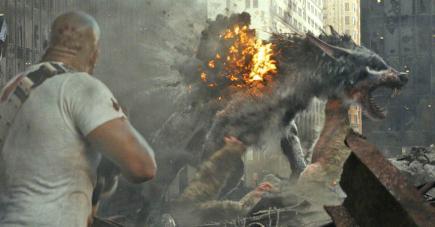 Un homme baraqué, des animaux méchants et géants : il y aura du grabuge !