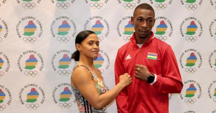 L'haltérophile Roilya Ranaivosoa et le boxeur Richarno Collin seront les porte-drapeau de Maurice au Jeux olympiques de Tokyo.