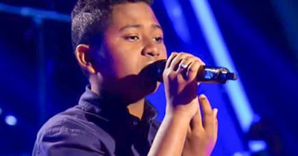 Le jeune homme revient sur le moment magique qu'il a vécu sur leplateau de The Voice Kids.