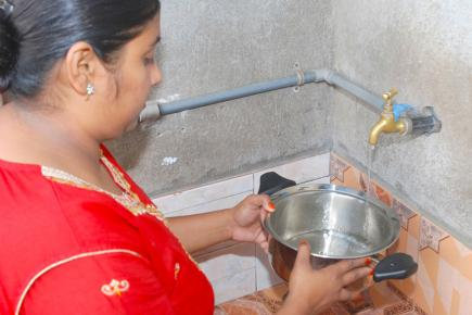 Même si l'eau du robinet est potable à Maurice, il est conseillé de prendre des précautions.
