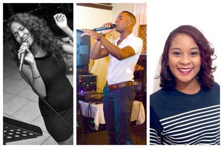 Malgré les difficultés  Ann Joa Deenmamode, Jeddy Baptiste et Stacy Laville vivent leur passion pour la musique au quotidien.