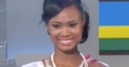 La Miss Mauritius, ici lors de la finale de samedi, remercie les Mauriciens pour leur soutien durant cette aventure.
