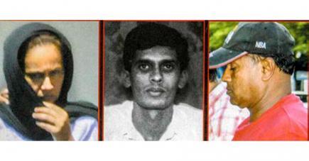 Sangeeta Seegoolam, Aboo Sahma Toofany et Rajcoomar Seegoolam il y a huit ans.