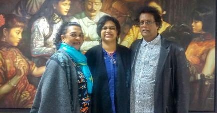 C'est en faisant face au handicap de leur fille Amsi que Gina et Rama Poonoosamy ont décidé de monter cette association.
