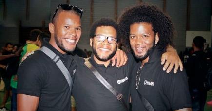 L'ASVP s'est imprégnée de la fraternité des frères Pierre, Pascal, Benjamin et Yannick.