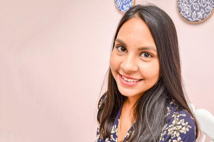 Sandiana Chomroo espère, à travers sa boutique, partager sa passion et ses petites astuces mode.